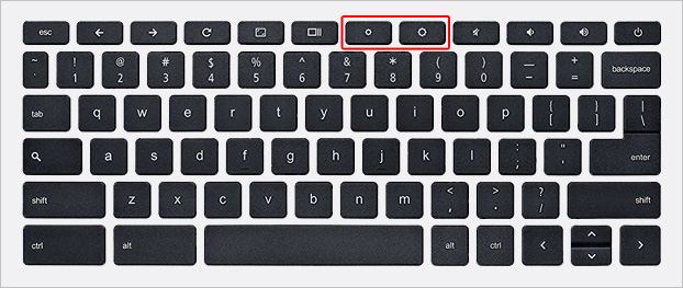chromebook keyboard display brightness